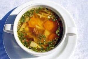 dietetyczna zupa jarzynowa