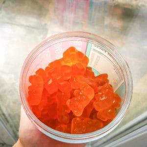 Jelly bear hair żelki