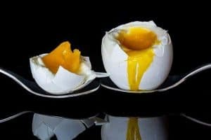 jajko ugotowane na miękko