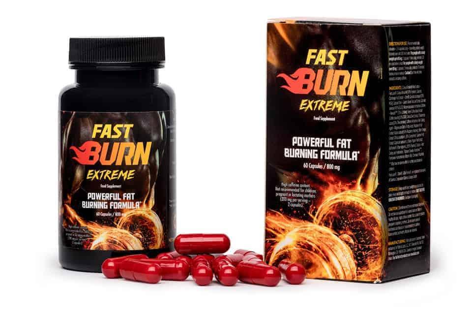 Fast Burn Extreme tabletki na spalanie tłuszczu