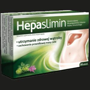 Hepaslimin tabletki wspomagające utrzymanie zdrowej wątrąby