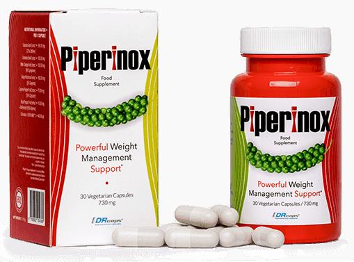 Piperinox opakowanie i tabletki