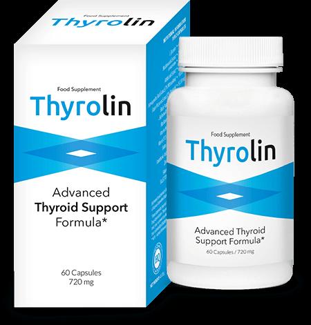 Thyrolin kapsułki wspomagające prace tarczycy