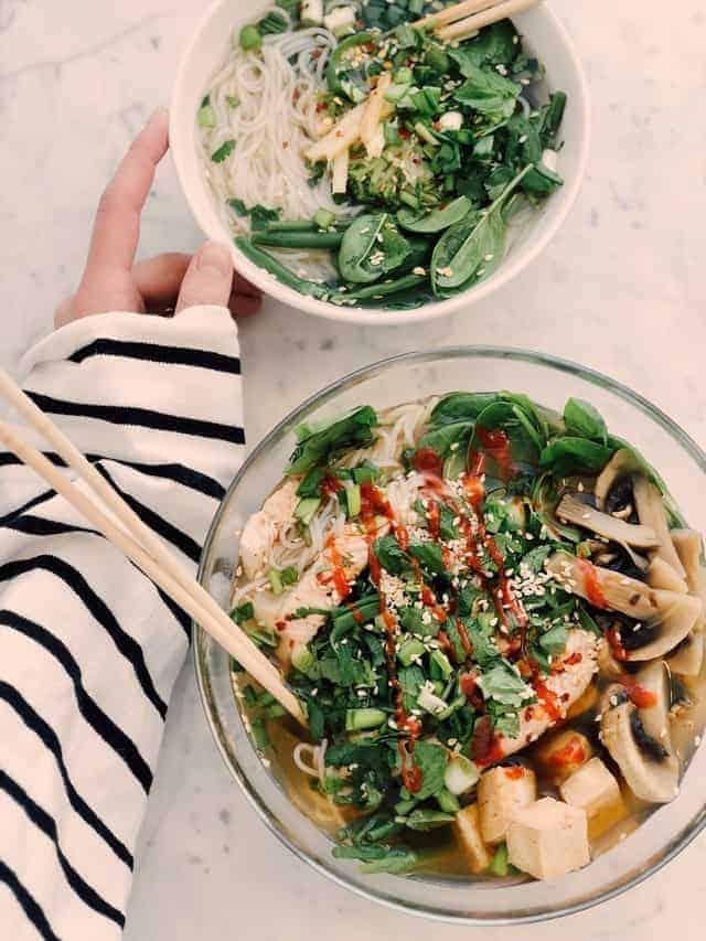 zdrowe sałatki warzywne