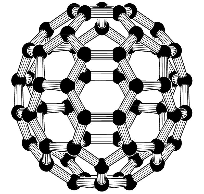 cząsteczka Fuleren C60