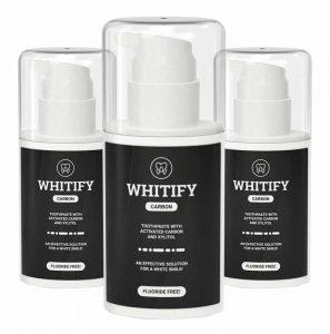 Whitify Carbon czarna pasta do zębów