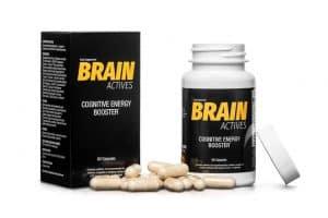 Suplement diety wspomagający pracę mózgu Brain Actives