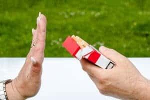 papierosy, nie chcę!