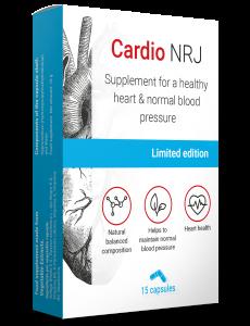 Preparat na wysokie ciśnienie Cardio NRJ