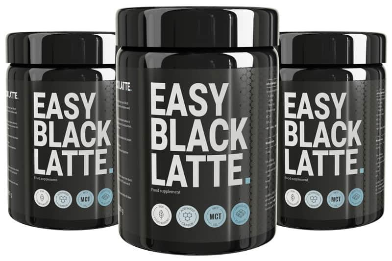 easy black latte opakowania