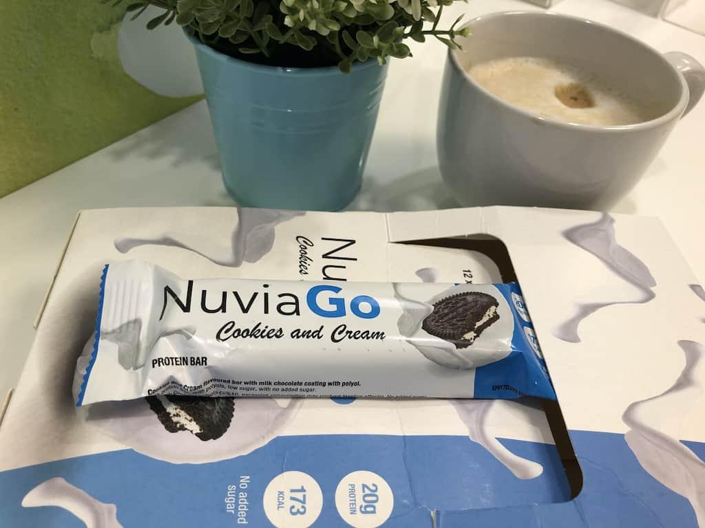 NuviaGo baton proteinowy