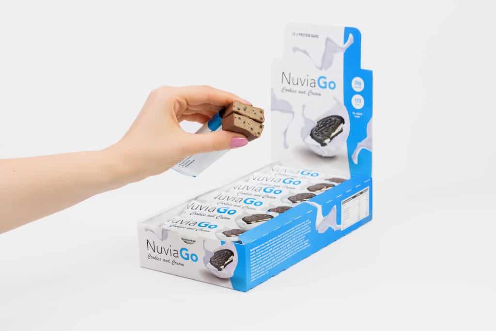 NuviaGo batony białkowe